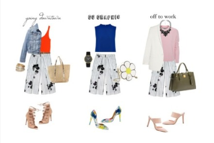 HOWTOWEAR - PRINTED CULOTTES