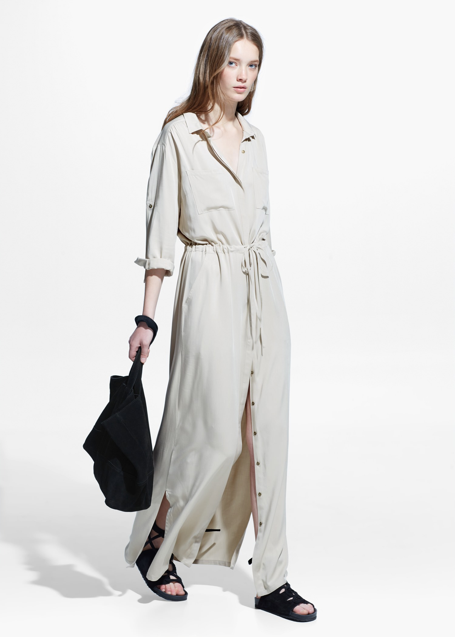 Long Shirtdress Mango