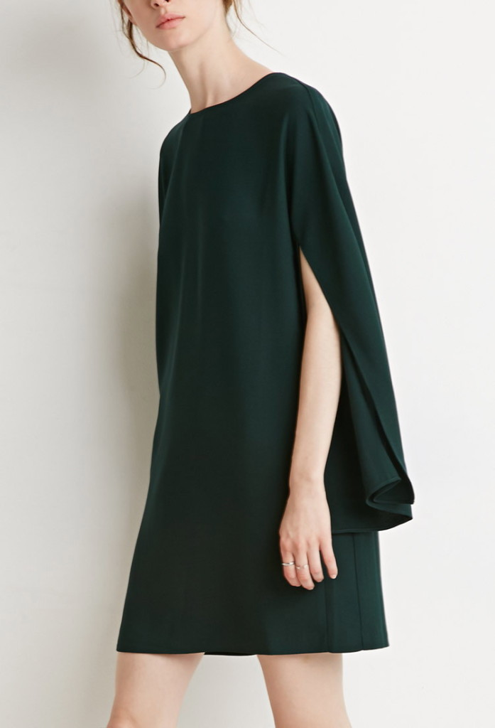 HUNTER GREEN_F21 dress