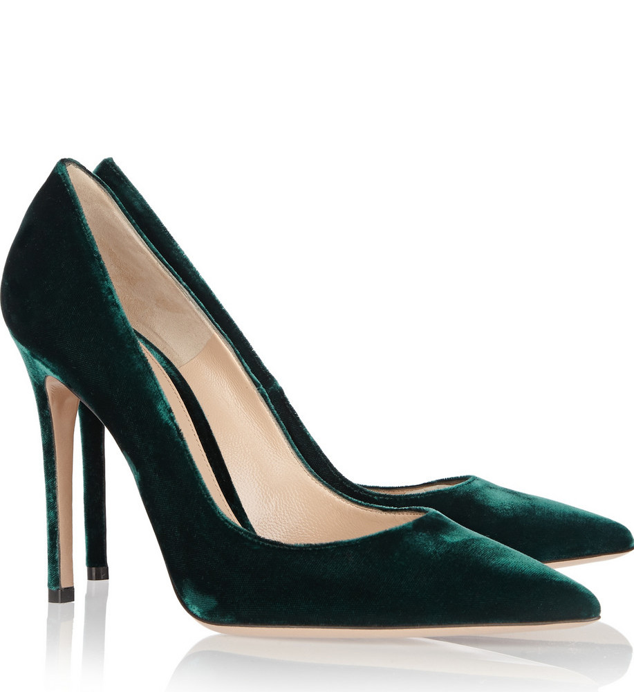 HUNTER GREEN_GROSSI pumps