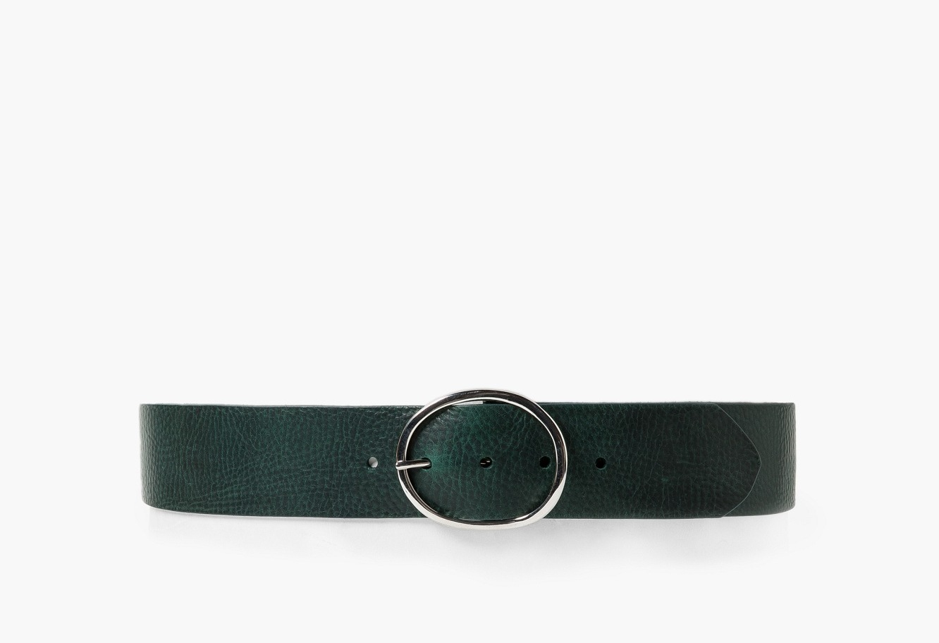 HUNTER GREEN_MANGO belt