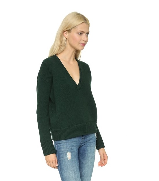 HUNTER GREEN_SHOPBOP jumper