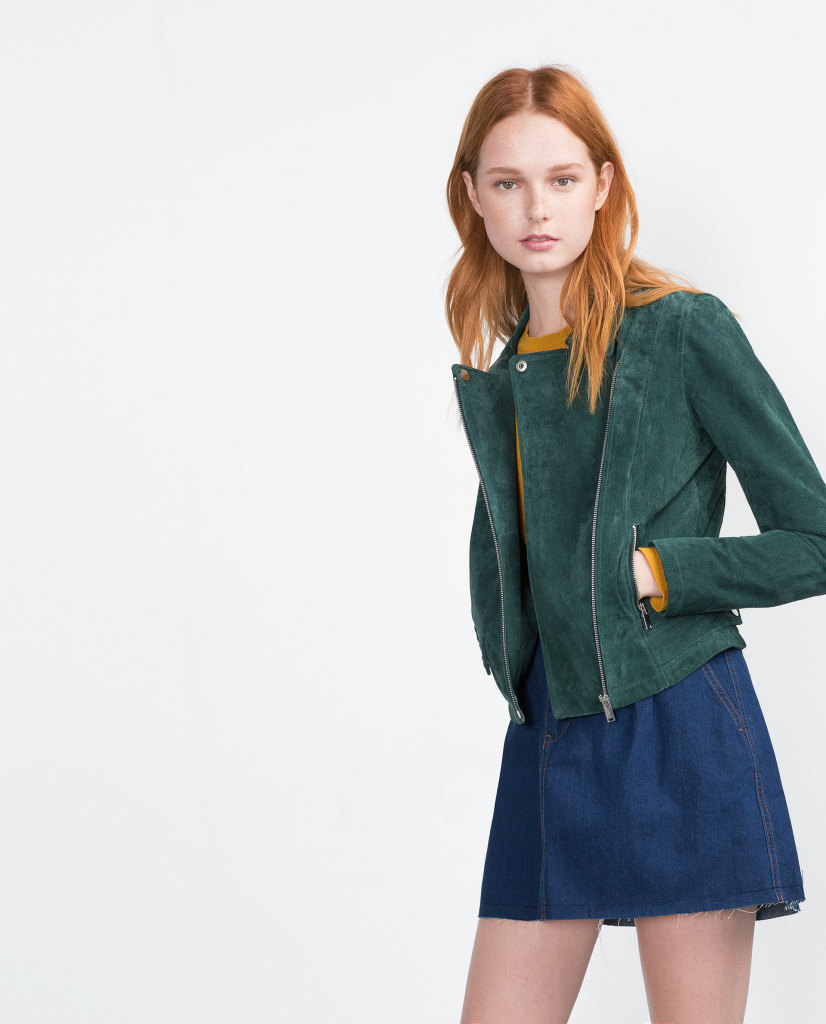 HUNTER GREEN_ZARA jacket